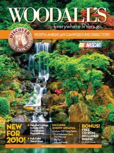 Woodall's 2010 campground directory cover